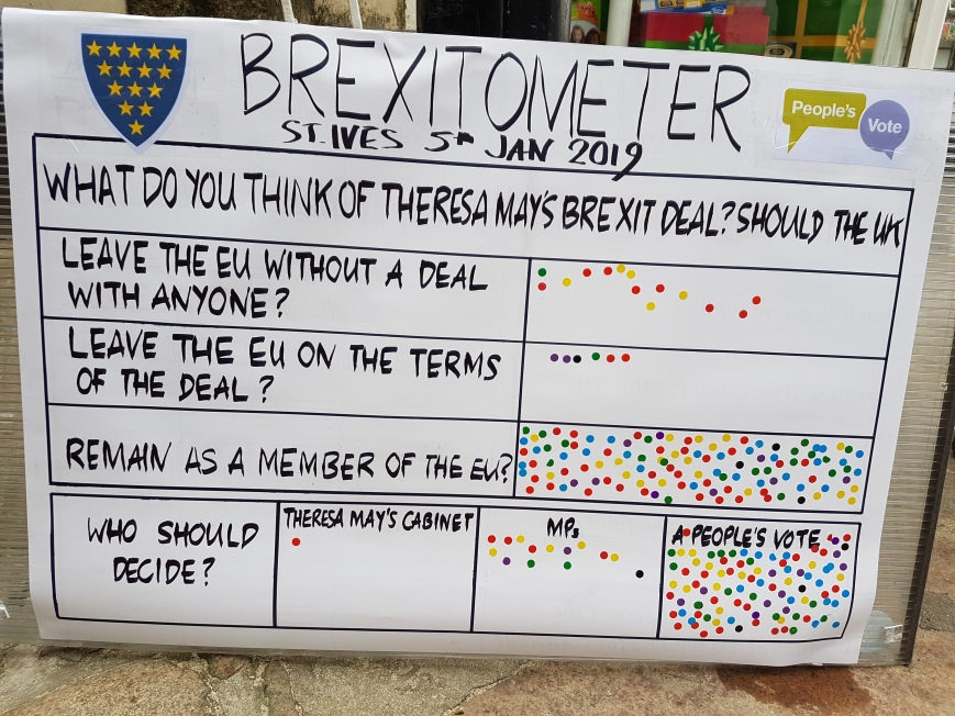 Brexitometer St Ives 5 January 2019