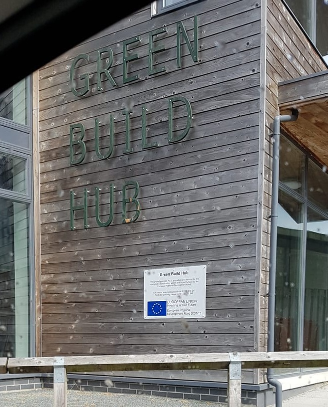 Green Build Hub at the Eden Project
