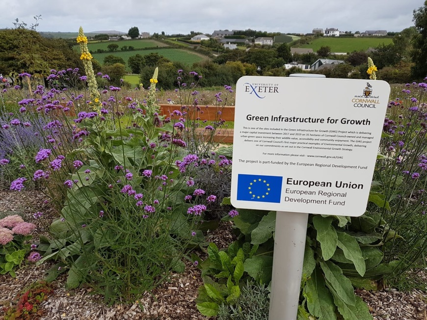 Landscaping at the Trenoweth Estate, Redruth: £2.8m